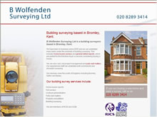 B Wolfenden (Surveying) Ltd Bromley Surveyors