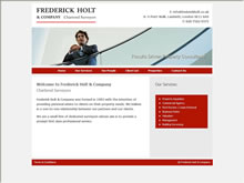 Frederick Holt London SE11 Surveyors