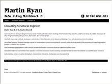 Martin Ryan Structural Engineer