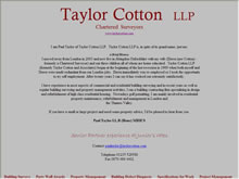 Taylor Cotton Chartered Surveyors
