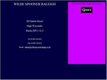 Wilde Spooner Raleigh